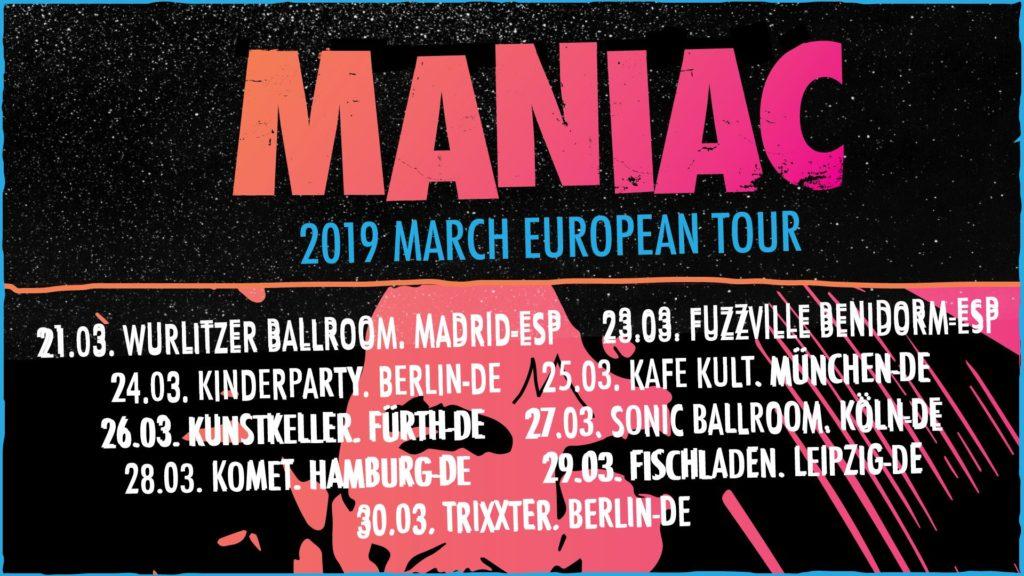 Maniac (USA) + GrGr
