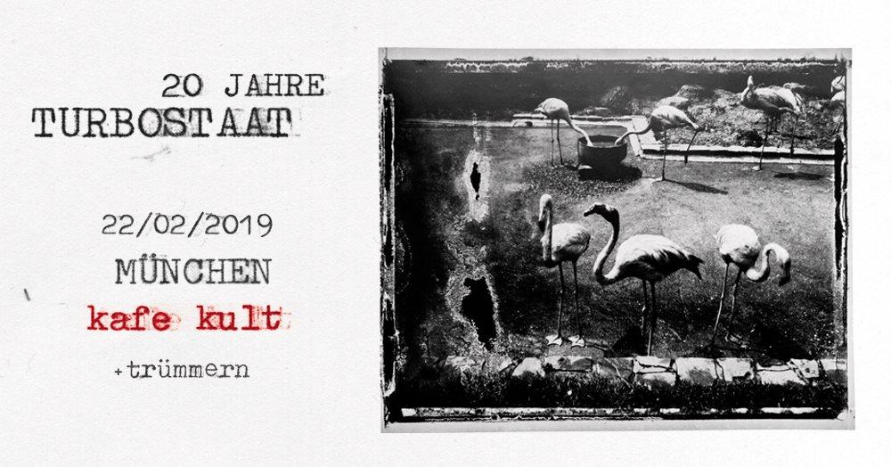 Turbostaat ::: 20 Jahre ::: Kafe Kult, München