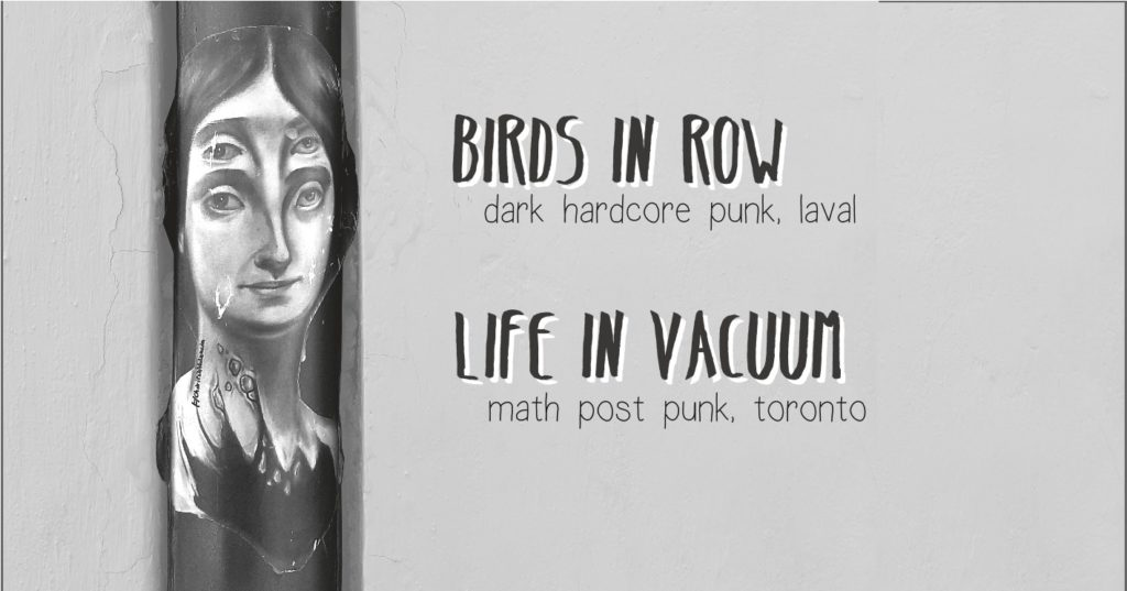 Birds in Row + Life in Vacuum