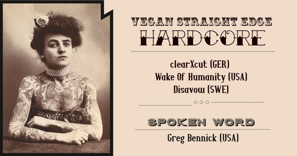 ClearXCut + Wake Of Humanity + Disavow + Greg Bennick