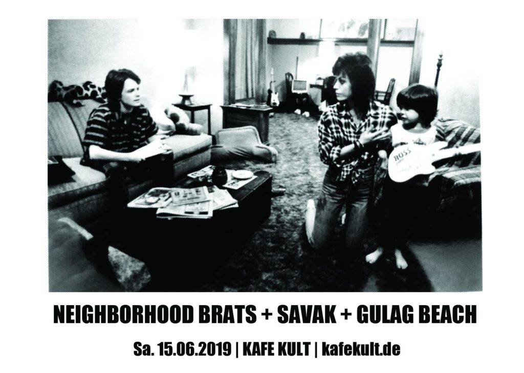 Neighborhood Brats + SAVAK + Gulag Beach