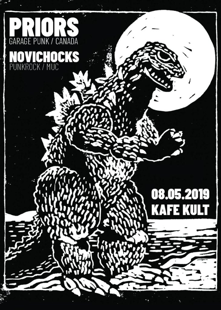 Priors (Slovenly Records) + Novichoks